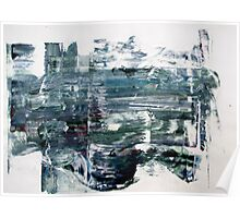 Western Wall - Original Wall Modern Abstract Art Painting Original mixed media Poster