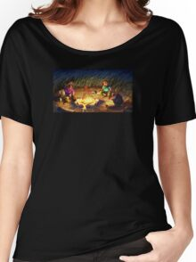 Monkey Island 2 - Campfire Stories Women's Relaxed Fit T-Shirt