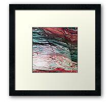 Rock Trail 2 Framed Print