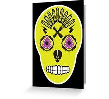 Dia De Los Guitarros Greeting Card