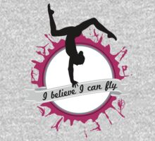 I believe I can fly - Gymnastics Baby Tee