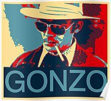 Gonzo: Hunter S. Thompson Poster