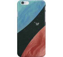 Earth collides with Mars iPhone Case/Skin