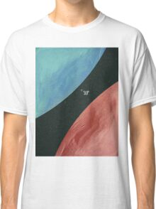 Earth collides with Mars Classic T-Shirt