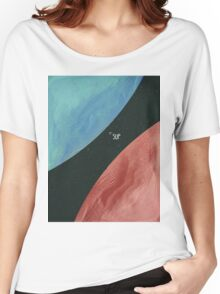 Earth collides with Mars Women's Relaxed Fit T-Shirt