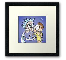 Rick & Morty  Framed Print