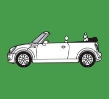 Mini, Cooper, Convertible, BMW, Motor, Car, Soft Top One Piece - Short Sleeve