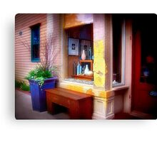 Vases in a Window Canvas Print
