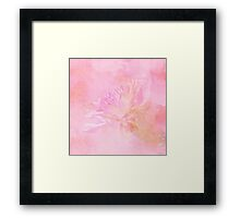The Best Things In Life Are Unseen - Flower Art Framed Print