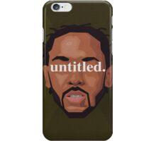 Kendrick Lamar Untitled iPhone Case/Skin