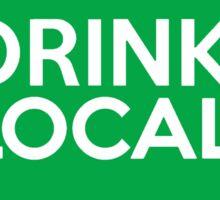 Iowa Drink Local IA Green Sticker