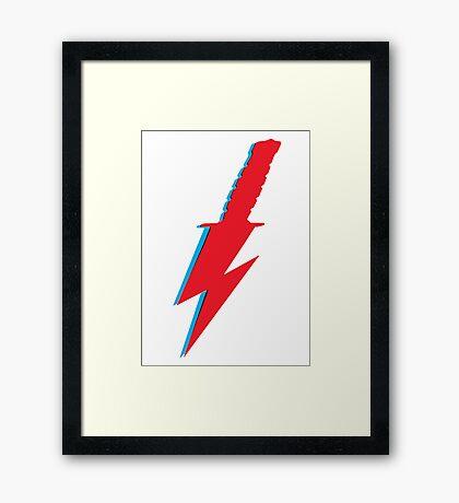 Bowie Knife! Framed Print
