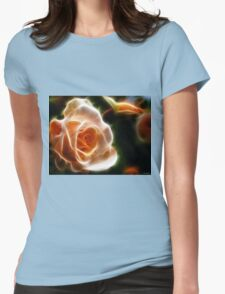 Last Rose of Summer Womens Fitted T-Shirt