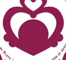 Sailor Scout University: Sailor Pluto (Alternate) Sticker
