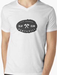 OLAF Club Pentakill Mens V-Neck T-Shirt