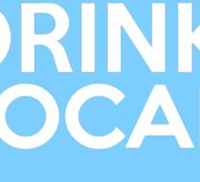 Ohio Drink Local OH Blue Sticker
