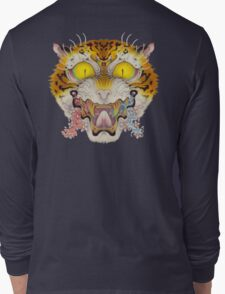 TIGER FACE Cloud and Wave, SAKURA Long Sleeve T-Shirt