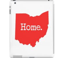 Ohio Home OH Red iPad Case/Skin