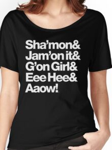 Michael Jackson Lyrics - Eee Hee! Women's Relaxed Fit T-Shirt