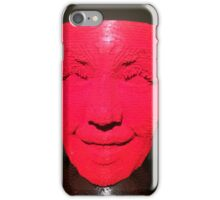 Red lego face iPhone Case/Skin