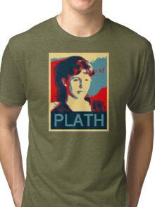 Sylvia Plath Tri-blend T-Shirt