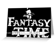 Final fantasy - Time Greeting Card