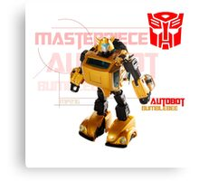 Transformers G1 Bumblebee Canvas Print