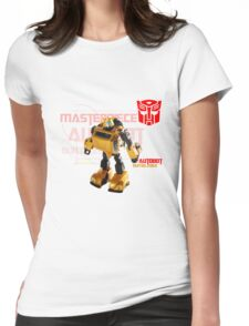 Transformers G1 Bumblebee Womens Fitted T-Shirt