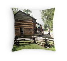 """Day of Visitation""... prints and products Throw Pillow"