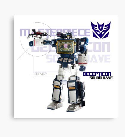 Transformers G1 Soundwave Canvas Print