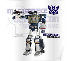 Transformers G1 Soundwave Poster