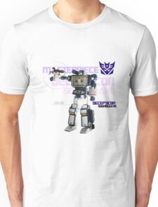 Transformers G1 Soundwave Unisex T-Shirt
