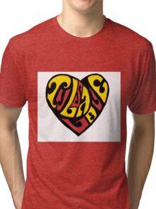 Tulsa Love Tri-blend T-Shirt