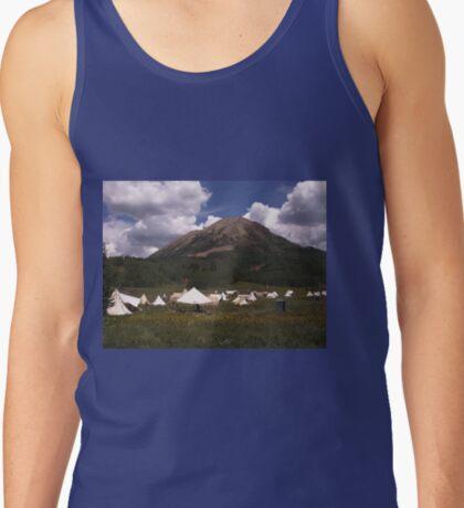 Crested Butte, Colorado  Mountain Man Rendezvous Tank Top