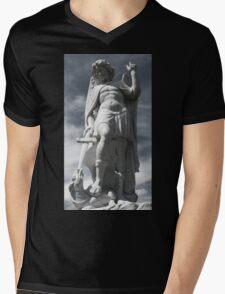 Archangel Michael Mens V-Neck T-Shirt