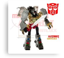 Transformers G1 Grimlock Canvas Print