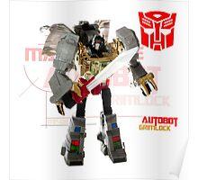 Transformers G1 Grimlock Poster