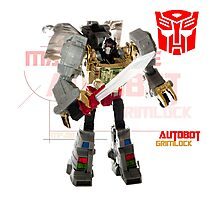 Transformers G1 Grimlock Photographic Print