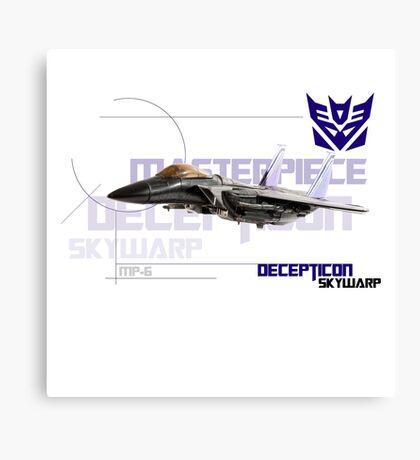 Transformers G1 Skywarp Canvas Print