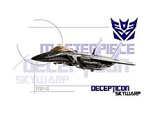 Transformers G1 Skywarp Photographic Print