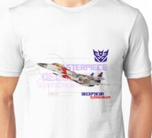 Transformers G1 Starscream Jet Unisex T-Shirt