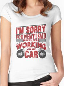 Wrenching anger 2 Women's Fitted Scoop T-Shirt