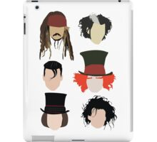 Johnny Depp - Famous Characters iPad Case/Skin