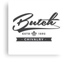 Lesbian Pride - Butch Chivalry Canvas Print