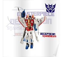 Transformers G1 Starscream Poster