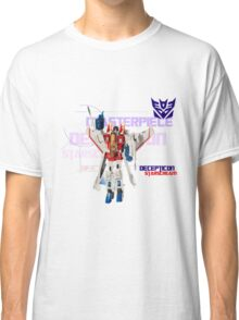 Transformers G1 Starscream Classic T-Shirt