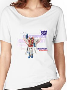Transformers G1 Starscream Women's Relaxed Fit T-Shirt