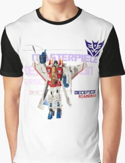 Transformers G1 Starscream Graphic T-Shirt