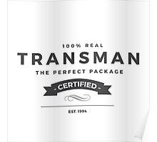 FTM: Transman Pride Poster
