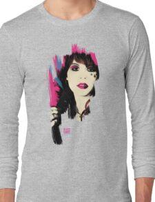 Glass Candy Fan T-shirt Long Sleeve T-Shirt